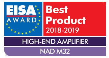 Best High-End Amplifier Award 2018-2019