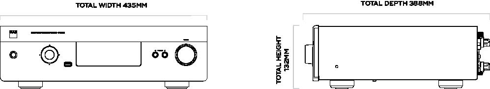 nad_c390dd_dimensions_panel