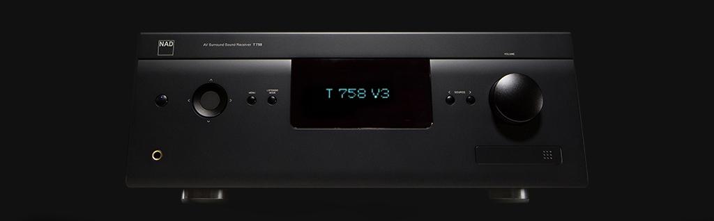 T 758 V3 A/V Surround Sound Receiver