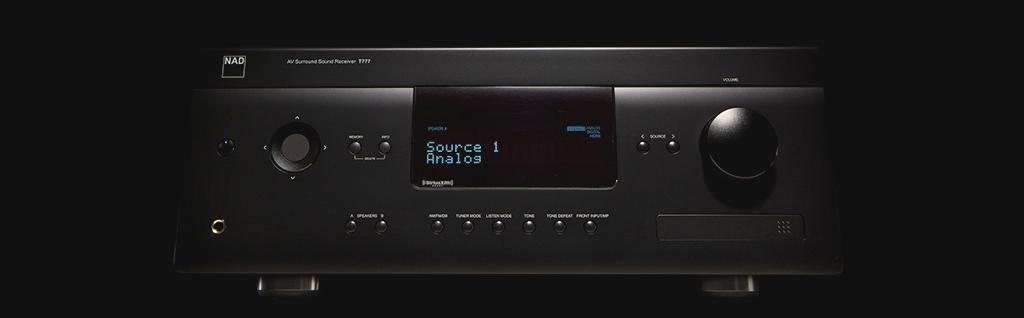 T 777 V3 A/V Surround Sound Receiver