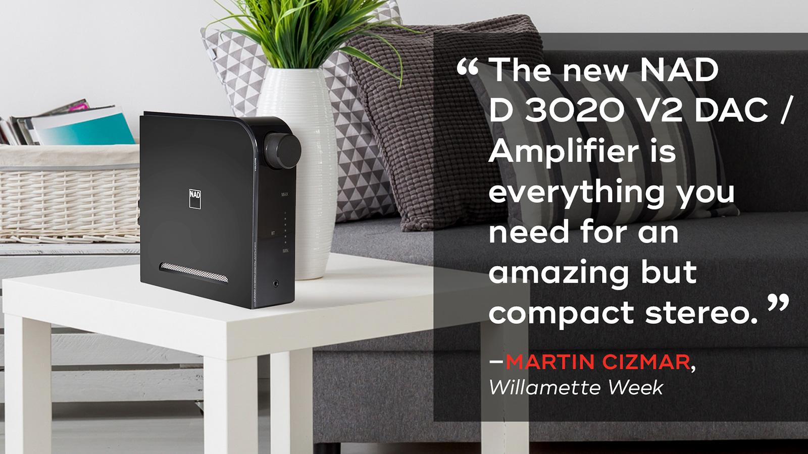 D 3020 V2 Amplifier