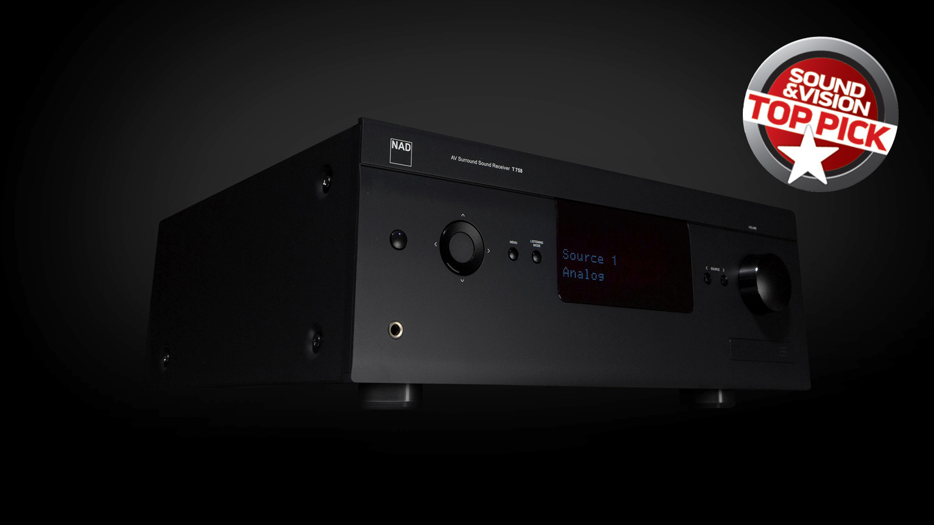 T 758 AV receiver
