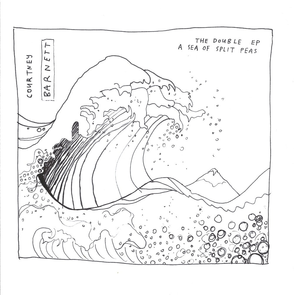 Courtney Barnett the Double EP a Sea of Split Peas covers