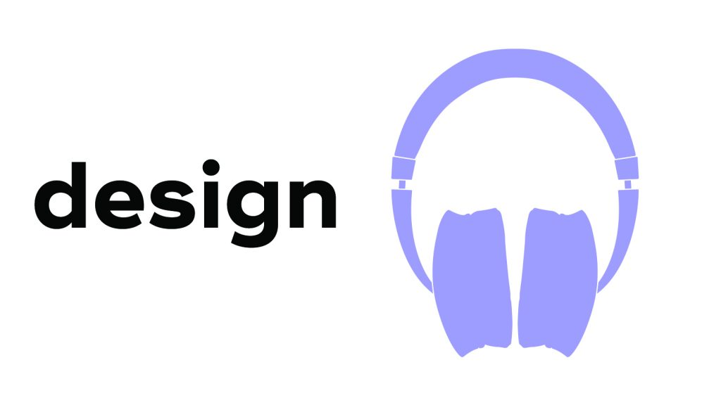 NAD Hp70 Headphone Design Illustration
