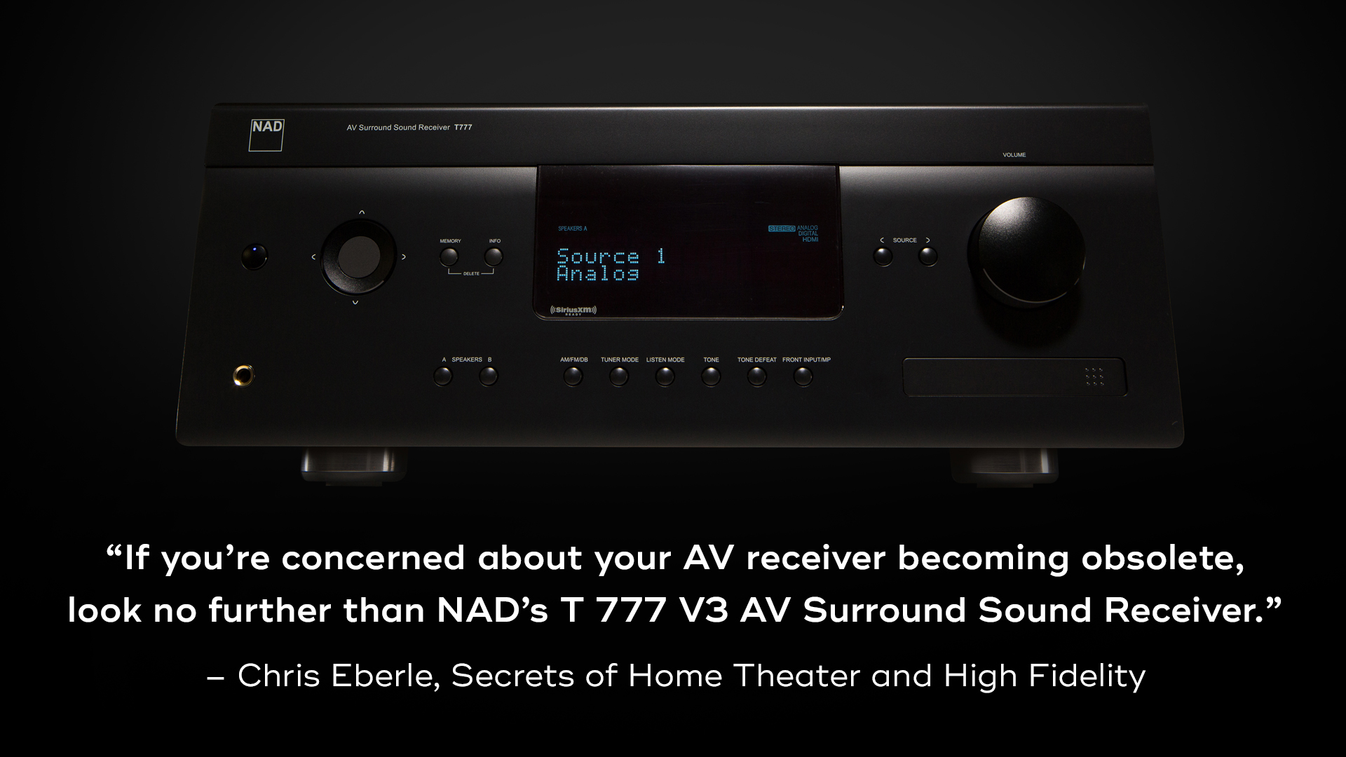 NAD T 777 V3 Home Theater HiFi Review