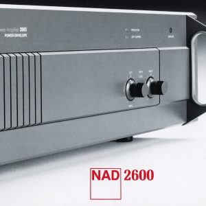 Cutaway of a NAD 2600 Amplifier