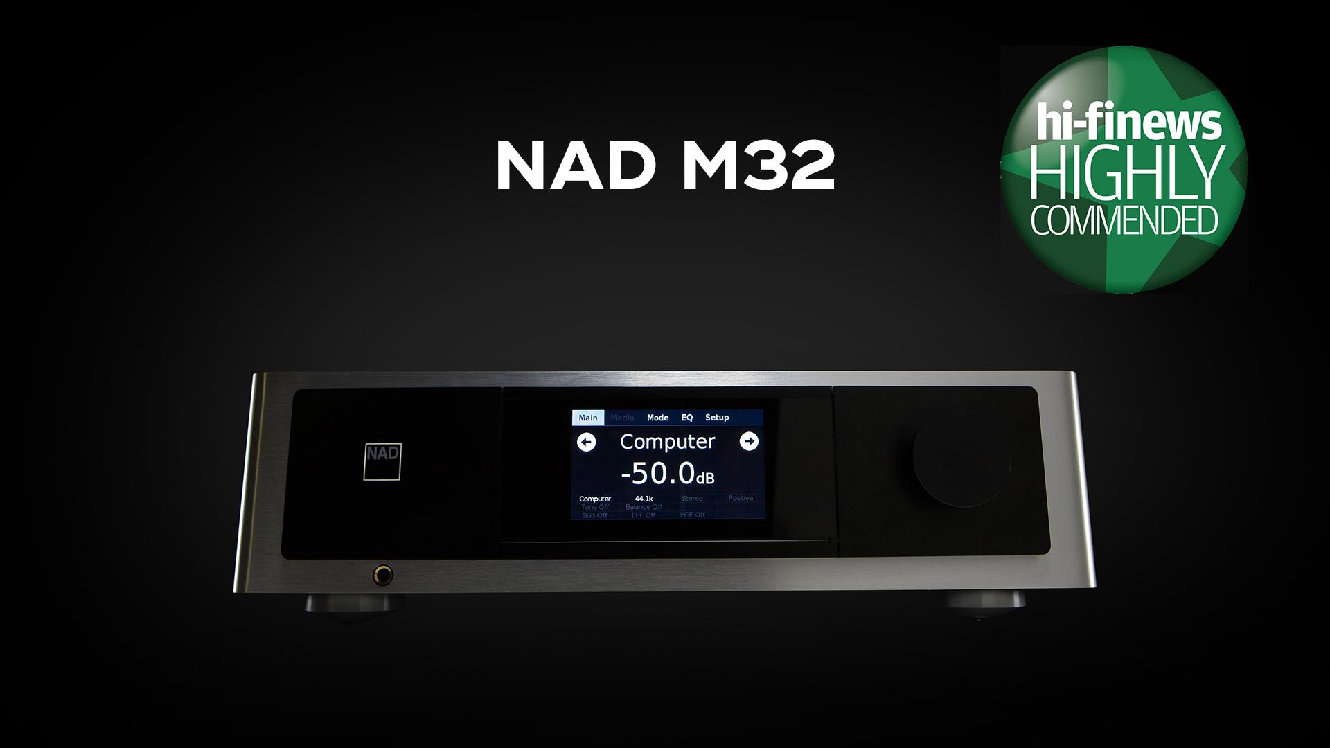 NAD M32 Award HiFi News