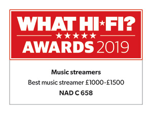 What Hifi Awards best music streamer