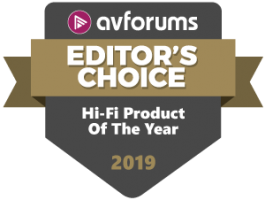 Hi-Fi Product Of The Year 2019 - M10
