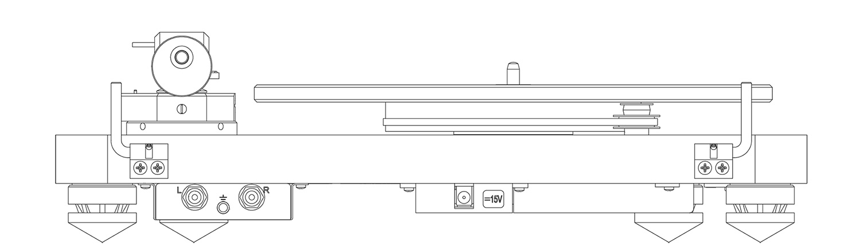C 588 Turntable