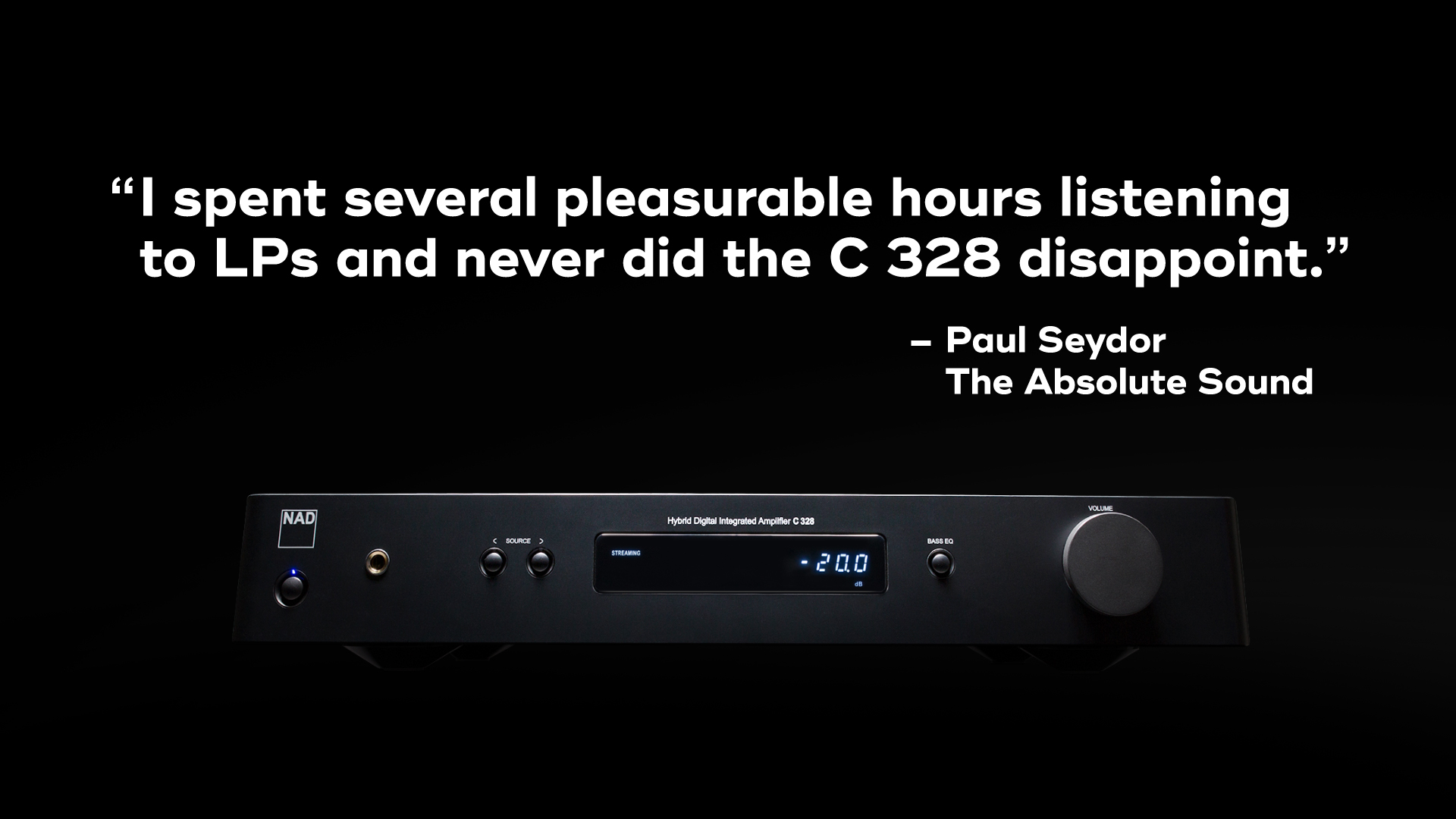 NAD C 328 The Absolute Sound Review