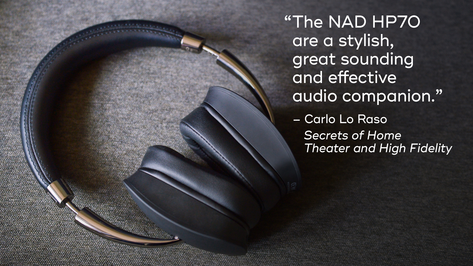 NAD HP70 Home Theatre HiFi Review Lifestyle
