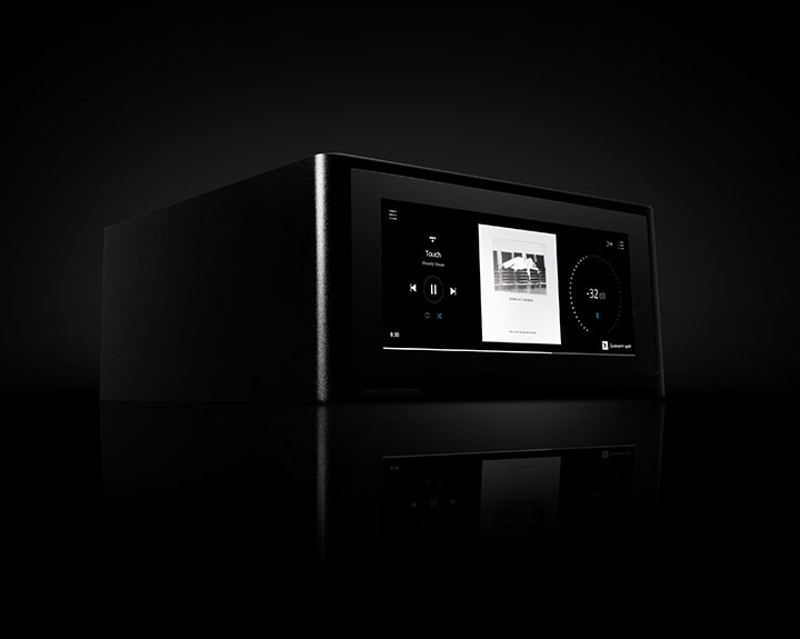 Streaming Amplifier whole home music system with BluOS