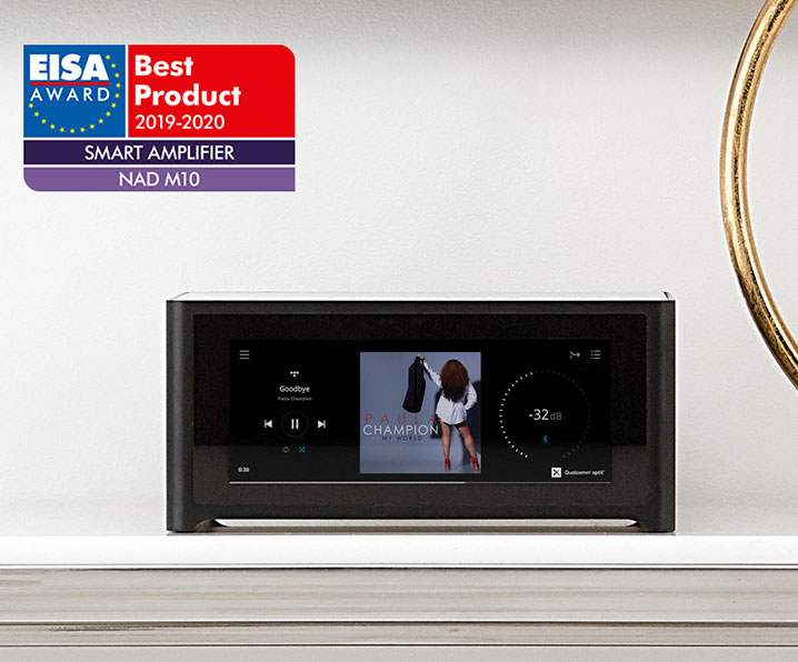 EISA Award best streaming amplifier M10