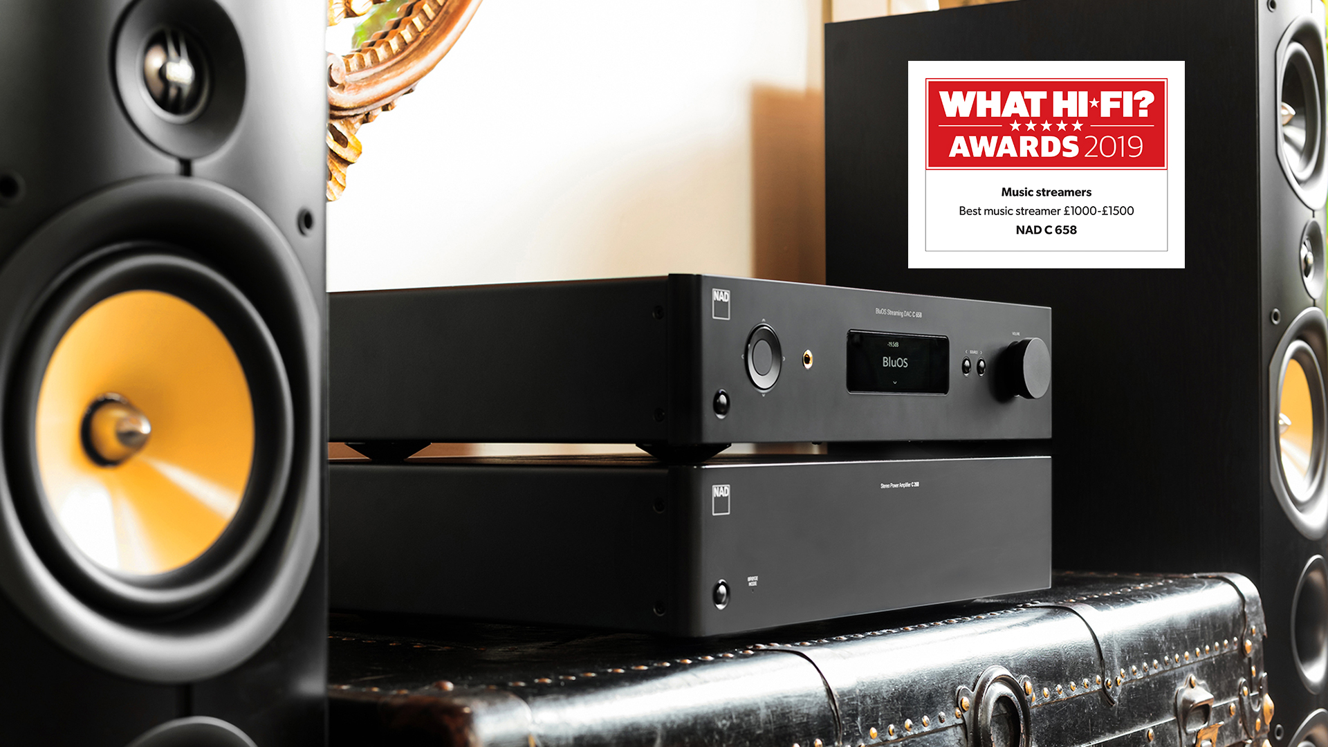 NAD C 658 What Hi-Fi award 2019