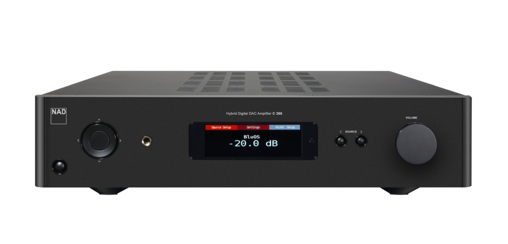 NAD C 368 BluOS Streaming DAC