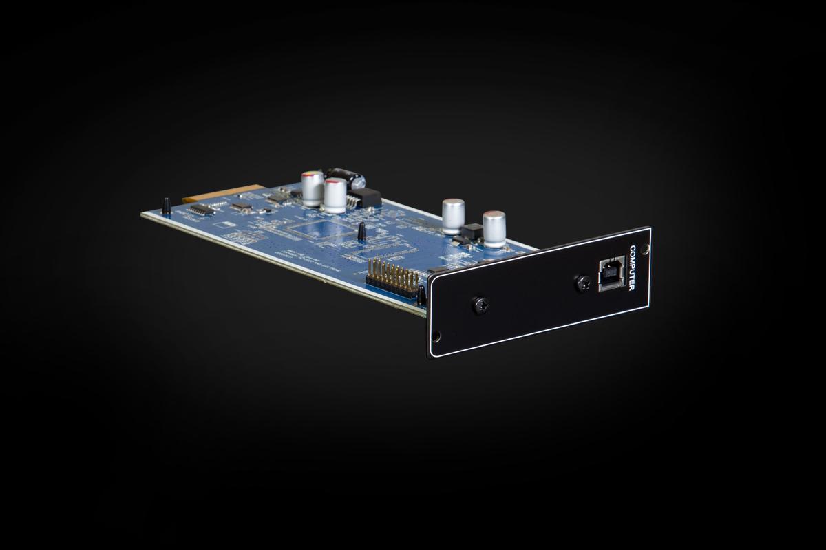 USB DSD add on module for a DAC