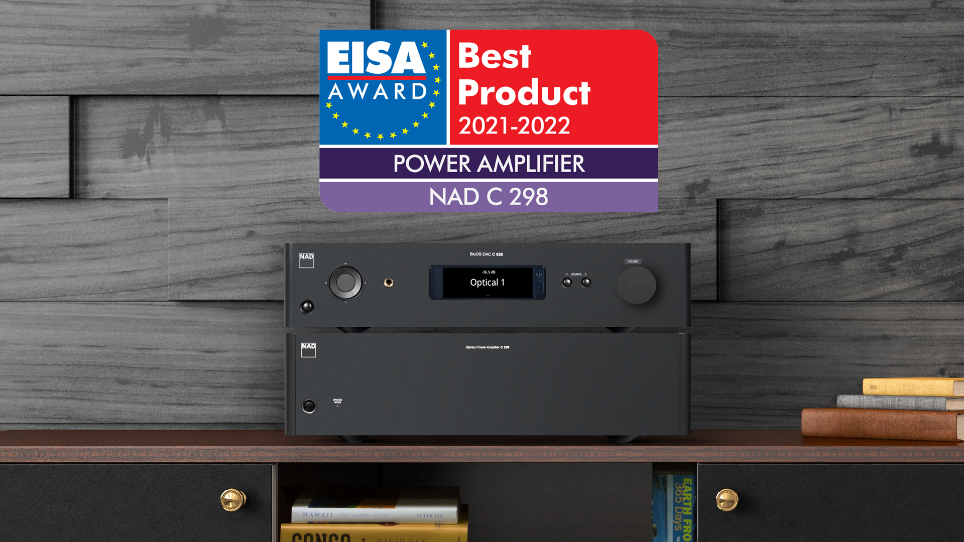 NAD C298 EISA Award winner